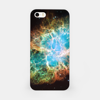 Miniature de image de Crab Nebula Outer Space IPhone Case, Live Heroes