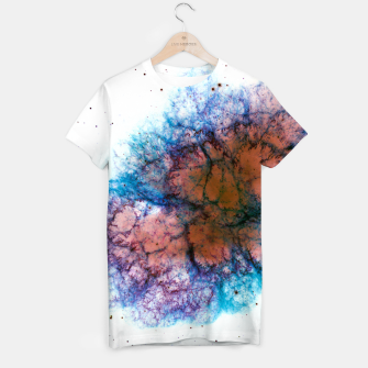 Miniature de image de Inverted Crab Nebula Outer Space Tee Shirt, Live Heroes