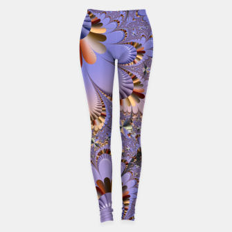 Thumbnail image of Metallic shine with fractals Leggings, Live Heroes