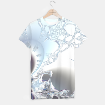 Thumbnail image of Ice crystals of a fractal winter T-shirt, Live Heroes