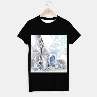 Thumbnail image of Ice crystals of a fractal winter T-shirt regular, Live Heroes