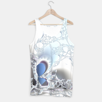 Thumbnail image of Ice crystals of a fractal winter Tank Top, Live Heroes