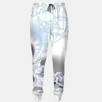 Thumbnail image of Ice crystals of a fractal winter Sweatpants, Live Heroes