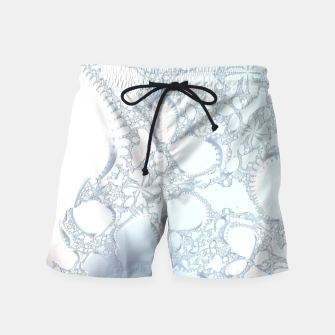 Thumbnail image of Ice crystals of a fractal winter Swim Shorts, Live Heroes