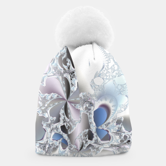 Thumbnail image of Ice crystals of a fractal winter Beanie, Live Heroes