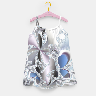 Thumbnail image of Ice crystals of a fractal winter Girl's Dress, Live Heroes