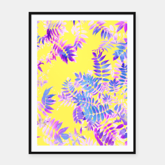 Thumbnail image of Vibrance Framed poster, Live Heroes