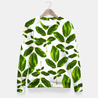 Thumbnail image of Natural Cure Fitted Waist Sweater, Live Heroes