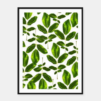 Thumbnail image of Natural Cure Framed poster, Live Heroes