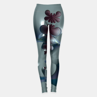 Thumbnail image of Life sprouting in the silence of an abstract fantasy Leggings, Live Heroes