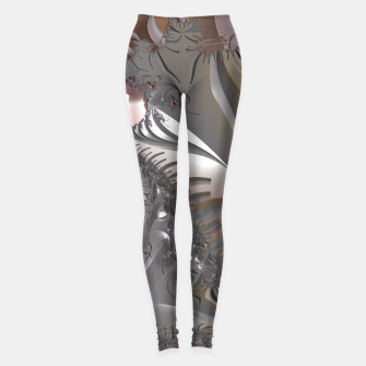 Miniatur Muted misty colors of a fractal world at dusk light Leggings, Live Heroes
