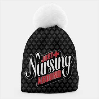Thumbnail image of Just Nursing Around Beanie, Live Heroes