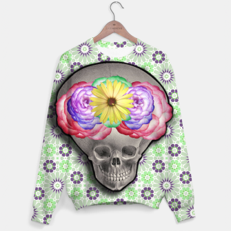 Thumbnail image of ALIEN SKULL Sweater, Live Heroes