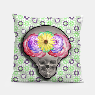 Thumbnail image of ALIEN SKULL Pillow, Live Heroes