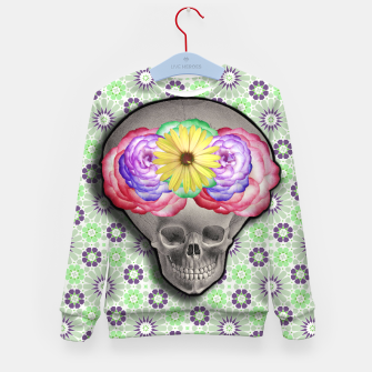 Thumbnail image of ALIEN SKULL Kid's Sweater, Live Heroes