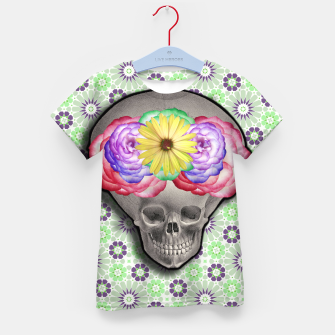 Thumbnail image of ALIEN SKULL Kid's T-shirt, Live Heroes