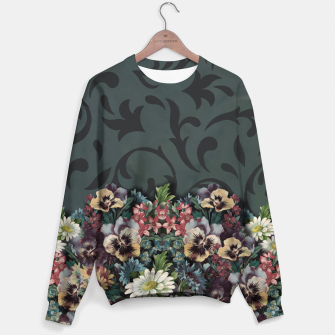 Thumbnail image of VINTAGE FLOWERS Sweater, Live Heroes