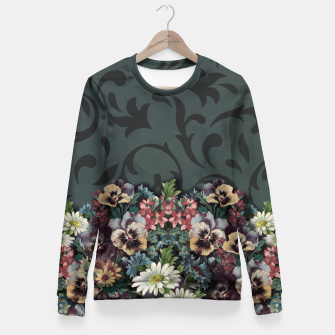 Thumbnail image of VINTAGE FLOWERS Fitted Waist Sweater, Live Heroes