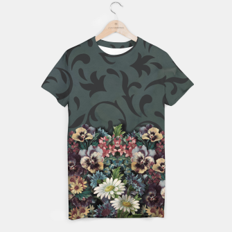 Thumbnail image of VINTAGE FLOWERS T-shirt, Live Heroes