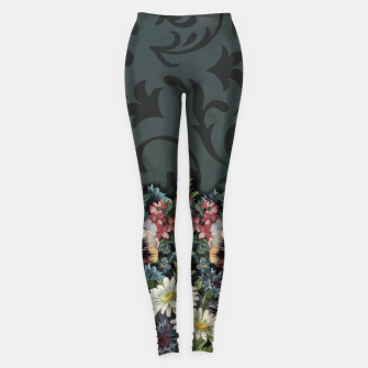 Thumbnail image of VINTAGE FLOWERS Leggings, Live Heroes