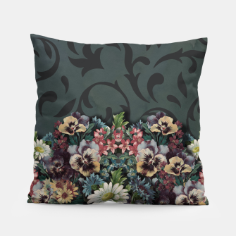 Thumbnail image of VINTAGE FLOWERS Pillow, Live Heroes