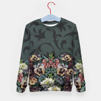 Thumbnail image of VINTAGE FLOWERS Kid's Sweater, Live Heroes