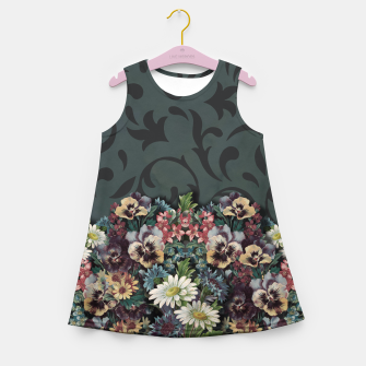 Thumbnail image of VINTAGE FLOWERS Girl's Summer Dress, Live Heroes