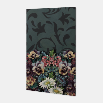 Thumbnail image of VINTAGE FLOWERS Canvas, Live Heroes