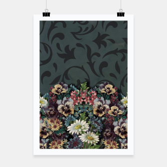 Thumbnail image of VINTAGE FLOWERS Poster, Live Heroes