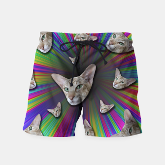Thumbnail image of LET'S TRIP Swim Shorts, Live Heroes