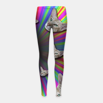 Thumbnail image of LET'S TRIP Girl's Leggings, Live Heroes