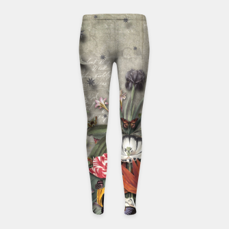 Thumbnail image of THE LOST KINGDOM Girl's Leggings, Live Heroes