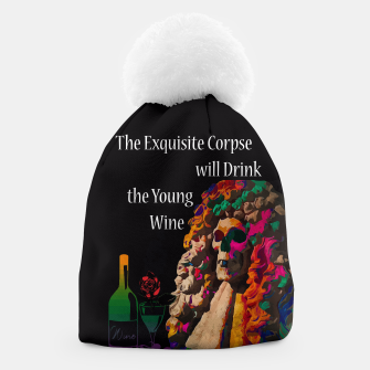 Miniatur The Exquisite Corpse will Drink the Young Wine Beanie, Live Heroes