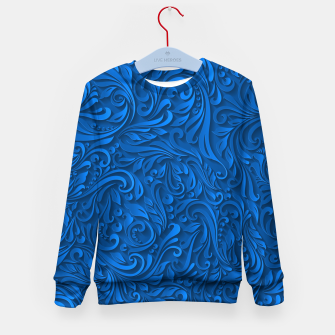 Thumbnail image of floral Kid's Sweater, Live Heroes