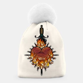 Heart on fire - Gorro Bild der Miniatur