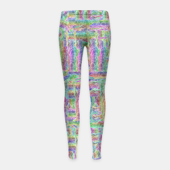 Thumbnail image of liberty Girl's Leggings, Live Heroes