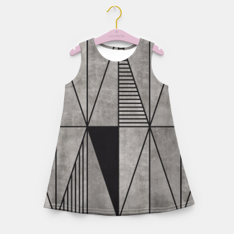 Thumbnail image of Concrete Triangles Girl's Summer Dress, Live Heroes