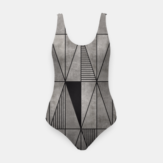 Thumbnail image of Concrete Triangles Swimsuit, Live Heroes