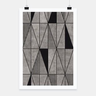 Thumbnail image of Concrete Triangles Poster, Live Heroes