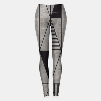 Thumbnail image of Concrete Triangles Leggings, Live Heroes