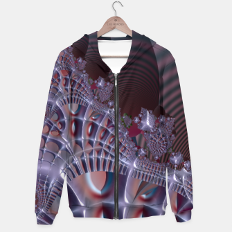 Thumbnail image of Fancy fence - A fractal fantasy Hoodie, Live Heroes