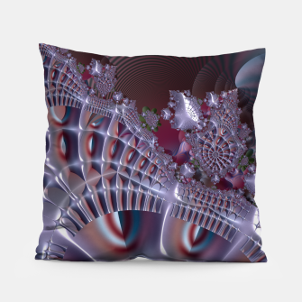 Thumbnail image of Fancy fence - A fractal fantasy Pillow, Live Heroes