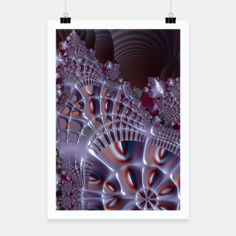 Thumbnail image of Fancy fence - A fractal fantasy Poster, Live Heroes