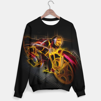 Thumbnail image of Fractal Motorcycle Sweater, Live Heroes