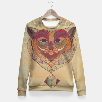 Miniature de image de Out-of-the-box-bear Fitted Waist Sweater, Live Heroes