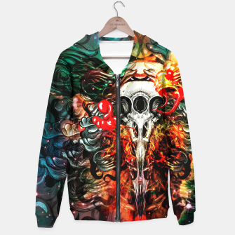 Thumbnail image of 3 Eye Raven COLORS Hoodie, Live Heroes