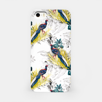 Thumbnail image of Pheasant animals birds in floral pattern Carcasa por Iphone, Live Heroes
