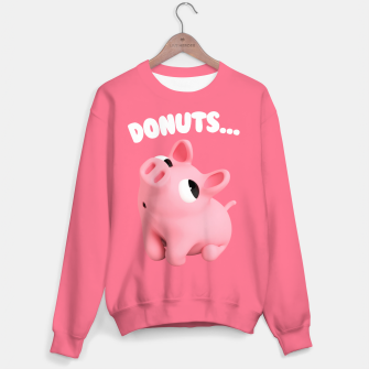 Thumbnail image of Rosa the Pig Donuts Pink Sweater, Live Heroes
