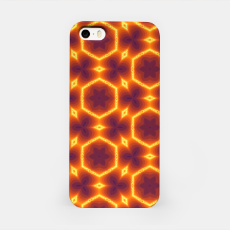 Thumbnail image of Vibrant Orange Patterned iphone Case, Live Heroes