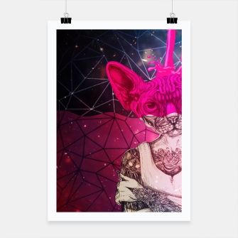 Miniatur Sphynx COLOR Poster, Live Heroes